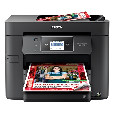 Epson WorkForce Pro WF-3730 USB & Wireless Color Inkjet All-In-One Printer