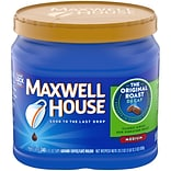 Maxwell House® Original Roast Decaf Ground Coffee, Medium Roast, Decaffeinated, 29.3 oz. Canister (0