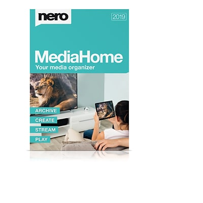 Nero MediaHome 2019 for 1 User, Windows, Download (AMER-11790000/639)