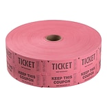 Staples Double Ticket Roll, 2000/Roll (19163)