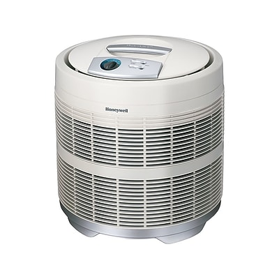 Honeywell True HEPA Console Air Purifier, White (50250)