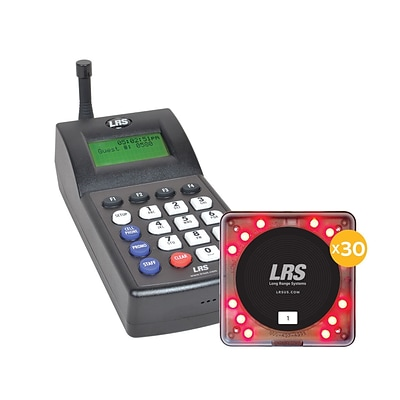 LRS Pro Guest Paging System, 30/Kit