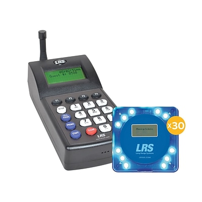 LRS Guest Messaging Paging System, 30/Kit