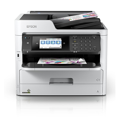 Epson WorkForce Pro WF-C5790 Wireless Color Inkjet All-In-One Printer (C11CG02201)
