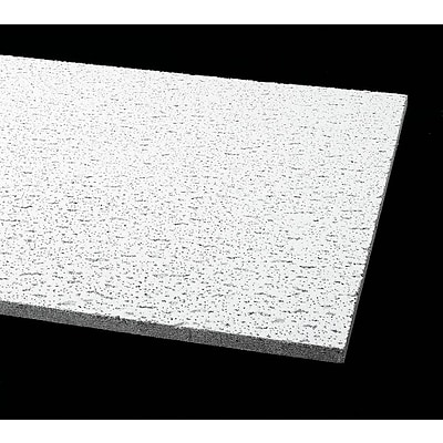 Armstrong Fissured Square Lay In 2 X4 Ceiling Tile White Pack Of 12 755b