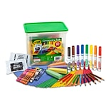 Crayola Creativity Tub, 80/Pieces Per Box (04-5358)