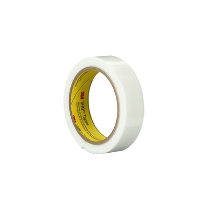 3M™ 4959 VHB™ Tape, 1 x 5 yds., White, 1/Case