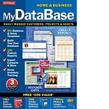 Avanquest MyDatabase Home and Business for 1 User, Windows, Download (AW0027MDBHB)