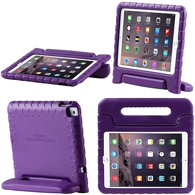 i-Blason iPad 9.7 Case 2018/2017, ArmorBox Kido Series Lightweight Protective Convertible Stand Cover, Purple (IPAD17-9.7-K-PU)