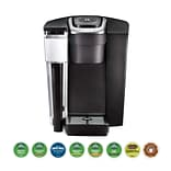 Keurig® K1500 Bundle K-Cup Coffee Maker with Variety Pack of 192 Pods, Black (611247381212)