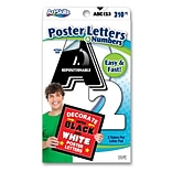 Artskills Poster and Bulletin Board Lettering, Quick Letters, Black & White, Pack of 310 (PA-1249)