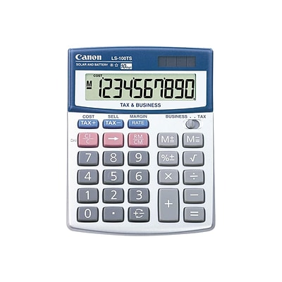Canon Basic Calculators LS-100TS 10 Digit Financial Calculator