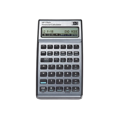 HP 17bII+ F2234A 22 Digit Financial Calculator