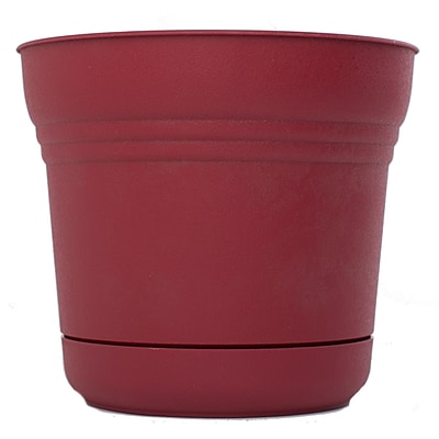 Bloem 5 Saturn Planter, Union Red