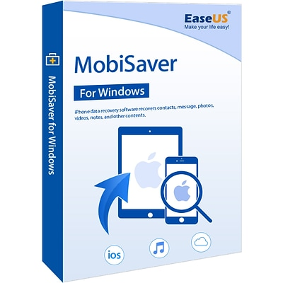 EaseUS MobiSaver Professional for 1 User, Windows, Download (EASEUSARWINMSPRO)