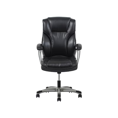 Fabric office chairs with arms Black Fabric Essentials By Ofm Fabric Computer And Desk Office Chair Fixed Arms Black ess6030blk Quillcom Quillcom Essentials By Ofm Fabric Computer And Desk Office Chair Fixed Arms