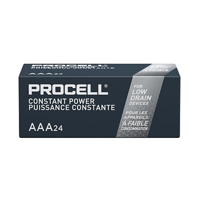 Duracell Procell Alkaline Battery, AAA, 24 Pack (479074)