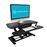 VersaDesk PowerPro Standing Desk Riser, 36 Length, Electric Sit to Stand Desktop Converter with Key