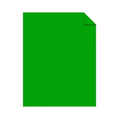 Neenah Astrobrights Paper, 11 x 17, 60lb., Text, Gamma Green, 2500/Carton (22543W)