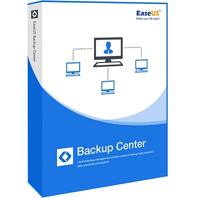 EaseUS Backup Center Technician with Free Lifetime Upgrades for 1-99 Users, Windows, Download (EASEUSAREBCTECHFLU)