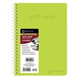 2019 BrownTrout 9.25 x 7.125 Academic Planner, FranklinCovey, Lime Green (978-1-9754-0222-8)
