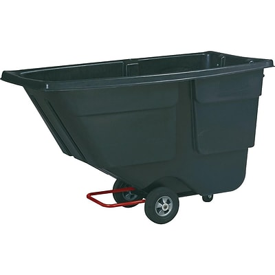 Rubbermaid Commercial Products Tilt Truck, 600 lbs., Black  (FG9T1800BLA)