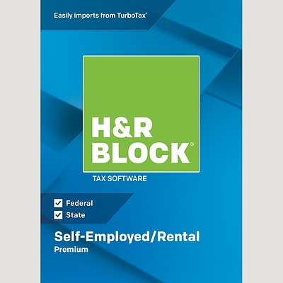 H&R Block 18 Premium for 1 User, Windows, Download