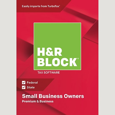 H&R Block 18 Premium & Business for 1 User, Windows, Download