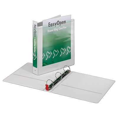 Cardinal Premier Easy Open 1.5 View Binder, White (CRD 11110CB)