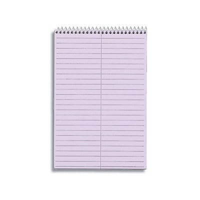 TOPS Prism Steno Pads, 6 x 9, Gregg, Purple, 80 Sheets/Pad, 4 Pads/Pack (TOP 80264)