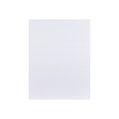 Staples® Graph Pads, 8.5 x 11, Graph, White, 50 Sheets/Pad, 6 Pads/Pack (51301/18606STP)
