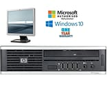 HP Elite 8000 Ultra Small Form Factor, Intel core 2 Duo E6550 2.33GHz Processor bundled with a 17 L