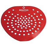 Brighton Professional Urinal Screen, Cherry, 12/Carton (BPR28629)