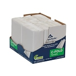 Georgia-Pacific Professional Series C-Fold Paper Towels, 1-ply, 200 Sheets/Pack, 6 Packs/Carton (211