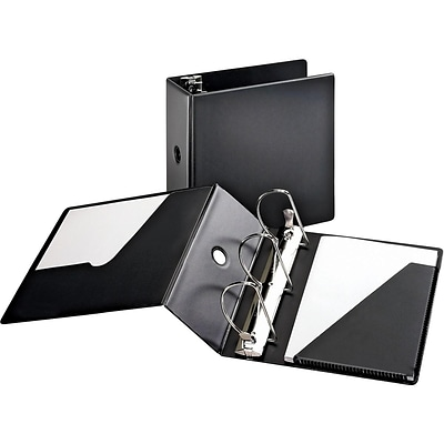 Cardinal SuperStrength 5 3-Ring Non-View Binder, Black (CRD 11932CB)