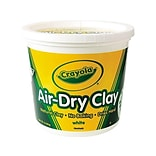 Crayola Air-Dry Clay, White (57-5055)