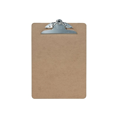 Officemate Hardboard Clipboard, Natural Brown (83100)