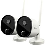 Swann 1080p Outdoor Wi-fi Camera With Alexa Voice Control, 2/Pack (Swwhd-outcampk2-us)