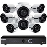 Lorex 16-Channel 4K Ultra HD 3TB NVR System with Eight 2K, 5 MP, Color Indoor/Outdoor Security Camer