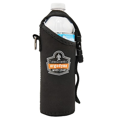 Ergodyne Squids® 3775 Can and Bottle Holder & Trap, Black (19775)