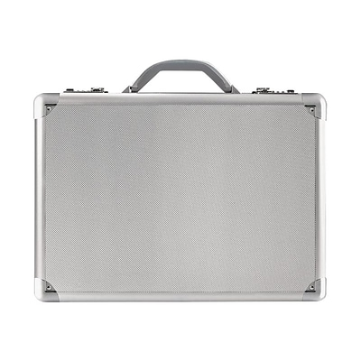 Solo New York Midtown Fifth Avenue Hard-Sided Aluminum Attache, Titanium (AC100-10)