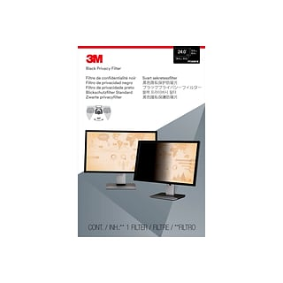 3M™ Privacy Filter for 24 Widescreen Monitor (16:10) (PF240W1B)