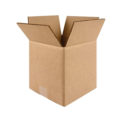 12 x 12 x 12 Shipping Boxes, Kraft, 25/Bundle (60-121212)