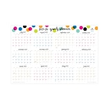 2019-2020 Blue Sky 36 x 24 Laminated Calendar, AS Dots (102487-20)