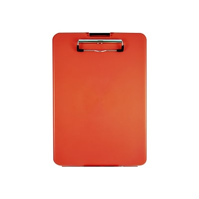 Saunders US-Works SlimMate Plastic Storage Clipboard, Red (00560)