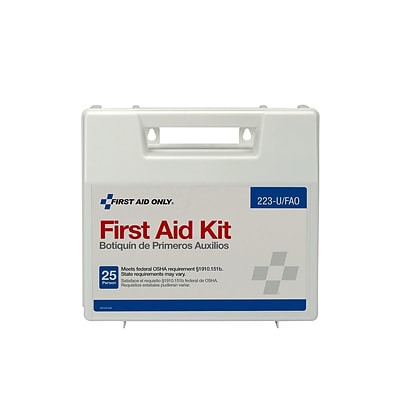 First Aid Only 107 pc. First Aid Kit for 25 People (223-U/FAO)