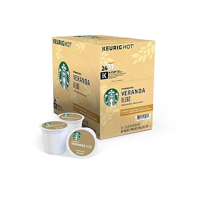 Starbucks Veranda Blend Coffee, Keurig® K-Cup® Pods, Light Roast, 24/Box (9577)