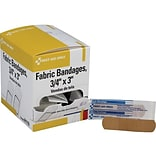 First Aid Only 0.75W x 3L Heavy Woven Bandages, 100/Box (H119)
