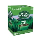 Green Mountain Dark Magic Coffee, Keurig® K-Cup® Pods, Dark Roast, 24/Box (4061)