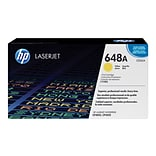 HP 648A Yellow Toner Cartridge, Standard